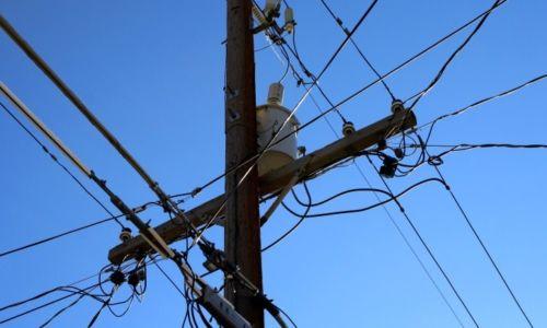 phone, power, lines